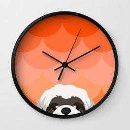 Lhasa Apso Wall Clock
