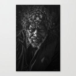 Homeless Hope Canvas Print