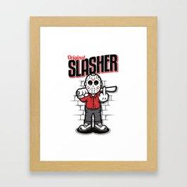 Original Slasher Framed Art Print