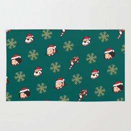 Reylo Christmas - Christmas Green Rug