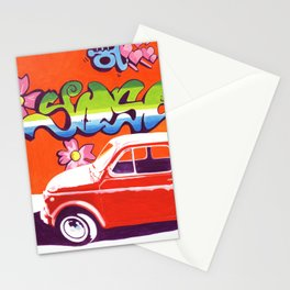 Fiat 500 Graffiti Stationery Cards