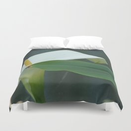 The Death Lilly Duvet Cover
