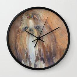 She's Who? Wall Clock