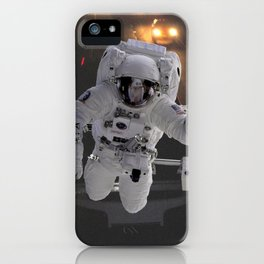 Highway Astronaut, Explore the World iPhone Case