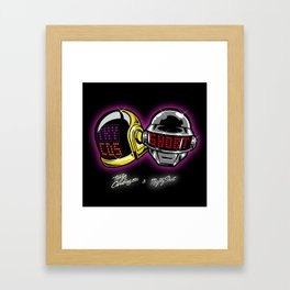 The helmets Framed Art Print