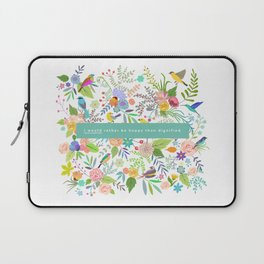 Jane Eyre - I Would Rather Be Happy Than Dignified Laptop Sleeve