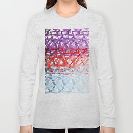 Bicycles palette Long Sleeve T-shirt