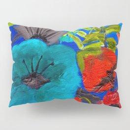 Blue Garden Pillow Sham