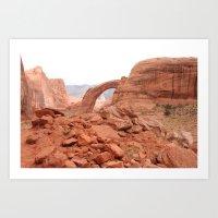 utah Art Prints featuring Utah by prism POP