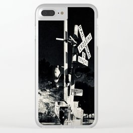 Windy City Crossing Clear iPhone Case