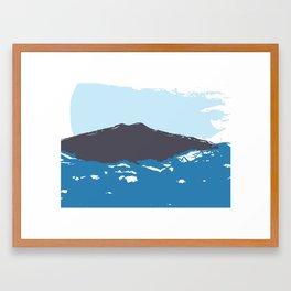 Shore Landscape Framed Art Print