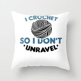Crocheting Throw Pillow