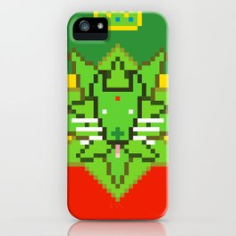 GREEN LION iPhone Case