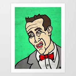 Pitch Perfect Pee Wee Herman Art Print