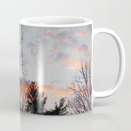 red clouds in the sky Coffee Mug