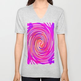 Rotating in Circles Series 02 Unisex V-Neck