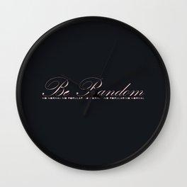 Be Random Wall Clock