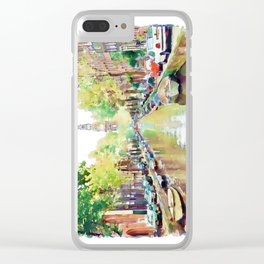 Amsterdam Canal 2 Clear iPhone Case