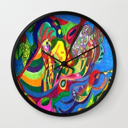 Go That Way! Wall Clock
