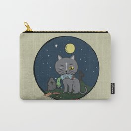 Cats love zombie meat! Carry-All Pouch