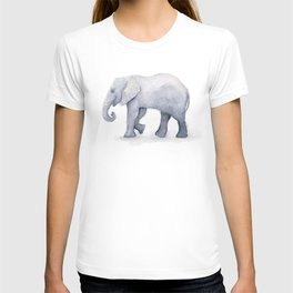 Elephant Watercolor T-shirt