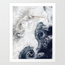 Kamchatka Peninsula - Russia Art Print