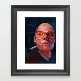 Fear & Loathing Framed Art Print