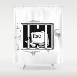 Esc Escape Shower Curtain