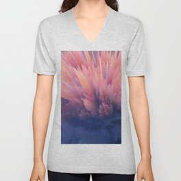 Abstract Clouds Unisex V-Neck