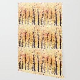 Stark Trees Wallpaper