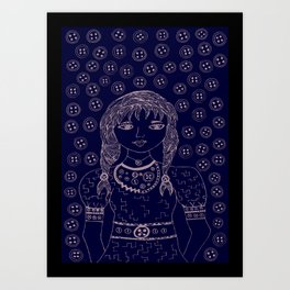 I have got nothing 'BUT TONS' of love for you. Art Print