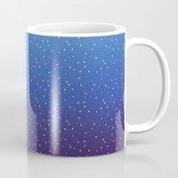 constellations Mugs featuring Constellations by KimbuPamu