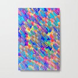 Abstract Pattern XXI Metal Print