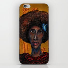 Denise Oliver Velez (Young Lords Party Series) iPhone Skin