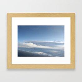 ICE WAVE Framed Art Print