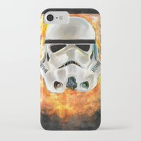 stormtrooper iPhone & iPod Cases featuring Stormtrooper by Mishel Robinadeh