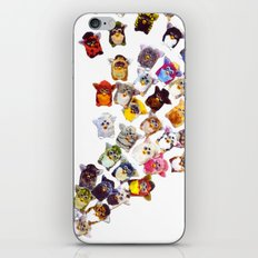 Furby Takeover  iPhone & iPod Skin