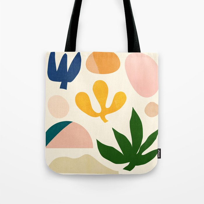Abstraction_Floral_001 Tote Bag