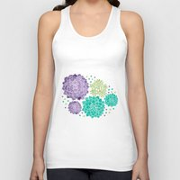 succulents Tank Tops featuring The Succulents by haidishabrina