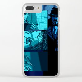 BLADE RUNNER - It's too bad she won't live! But the again who does? Clear iPhone Case