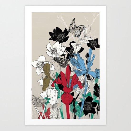 Evergrowing Art Print