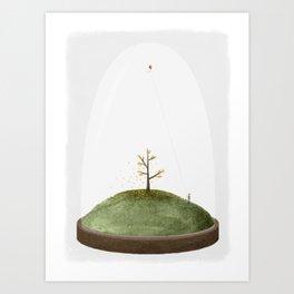 Micro Day Art Print