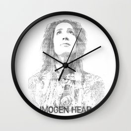 IMOGEN HEAP Wall Clock