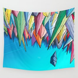 Icebergs Wall Tapestry