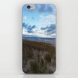 Cloudy Lake Michigan iPhone Skin