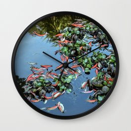 Pond #2 Wall Clock