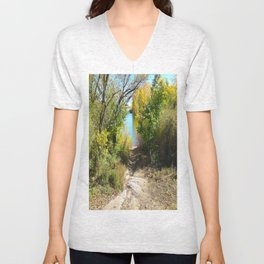 Down to the Lake Unisex V-Neck