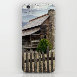 Appalachian Mountain Cabin iPhone Skin