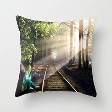 Dream Line Throw Pillow