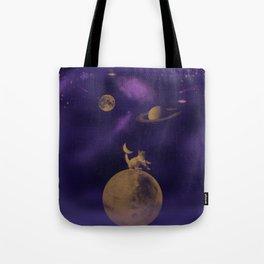 Galactyc Cat Tote Bag